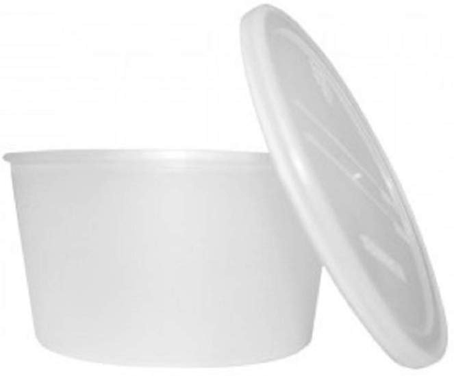 2X Dental Box Denture Cup containers Canister Denture Orthopedic by ARTUROLUDWIG