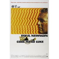 Cool Hand Luke, 1967 Vintage Paul Newman 1960s Movie Poster Print Wall Art
