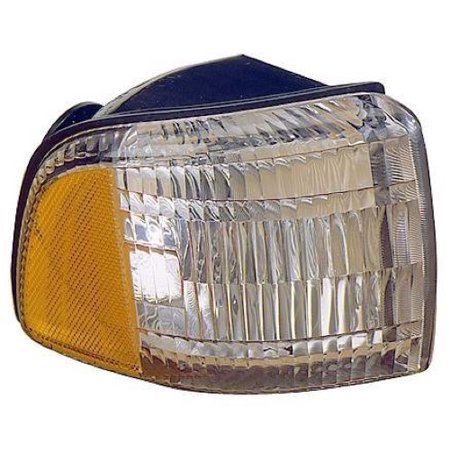 Compatible 1994 - 2002 Dodge Ram 1500 Parking Light Assembly / Lens Cover - Left (Driver) Side - (Laramie + ST + WS) 55054773AD CH2520119 Replacement For Dodge Ram 1500