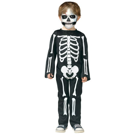Toddler Scary Skeleton Halloween Costume (Non Scary Halloween Games)