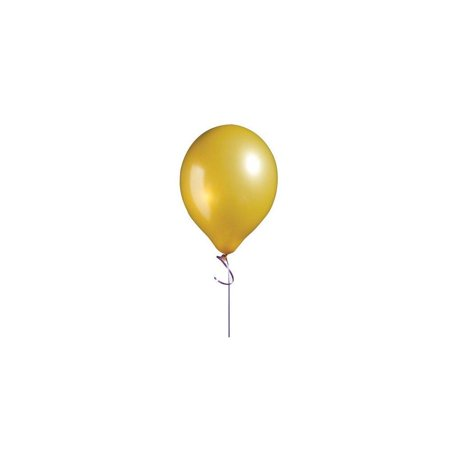 11 inch latex balloons metallic gold package of - Gold Latex Balloons