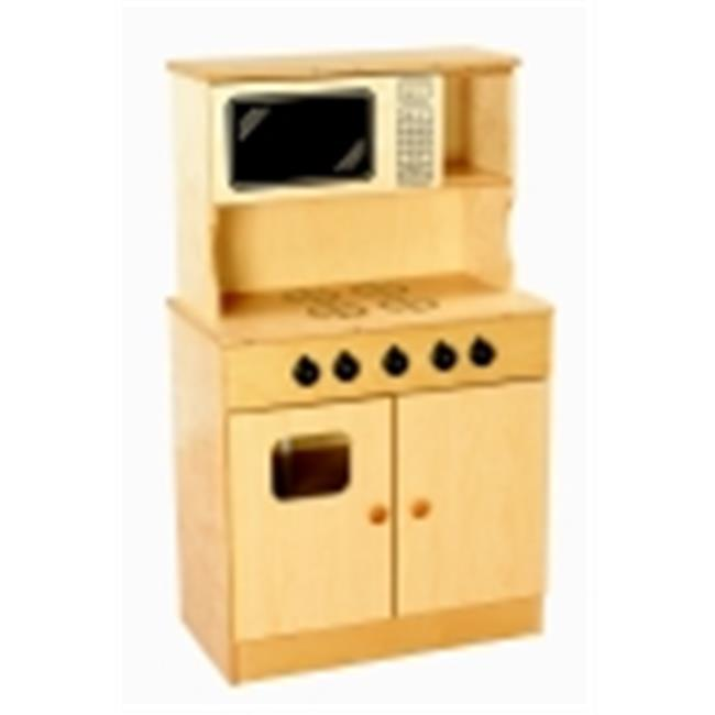 Childcraft Traditional Play Stove And Microwave Combo