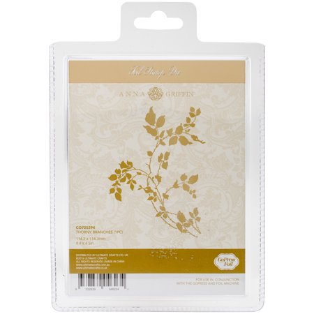 Couture Creations Anna Griffin Hotfoil Plate - Thorny Branches