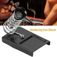 Yosoo 1pc Soldering Iron Gun Stand Holder Support Station Metal Base Soldering Iron Stand Soldering Iron Bracket