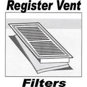 "Carbon Register Vent Air, Odor & Dust Filters 3 Pack 12"" x 16"" by CFS"
