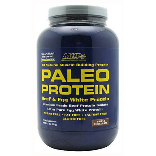 MHP  Paleo Protein, Triple Chocolate, 28 CT