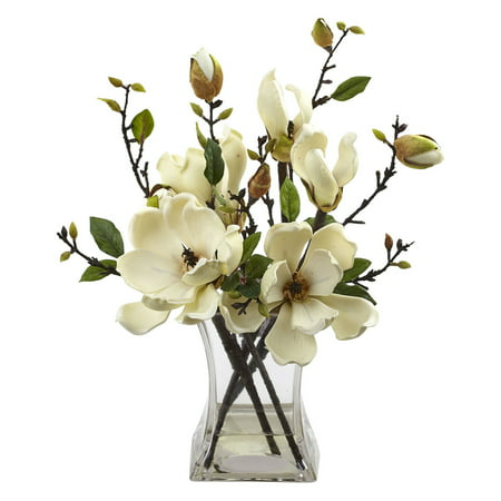 Nearly natural magnolia silk flower walmart nearly natural magnolia silk flower mightylinksfo