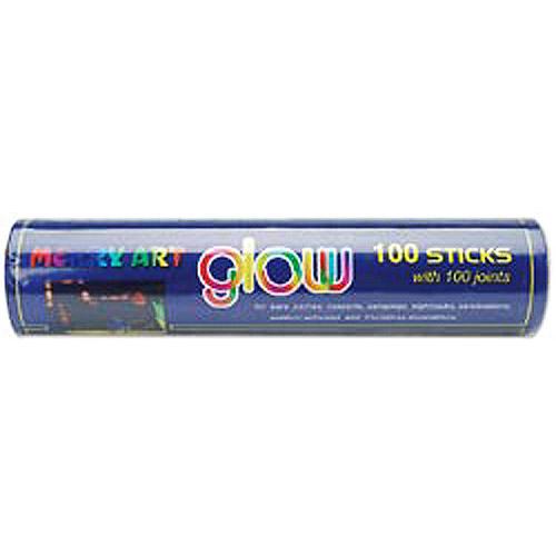 Glow Sticks - 100-Pack, Assorted Neon Colors