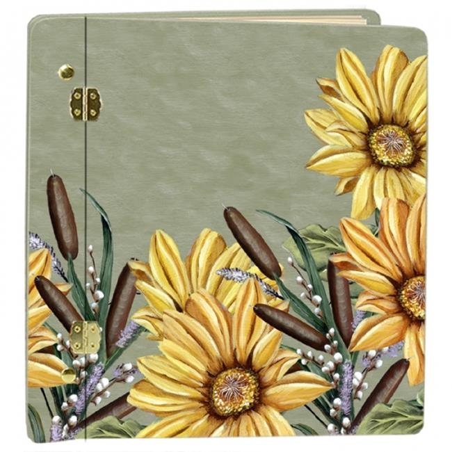 Lexington Studios 12069 Sunflower Large Photo Album by Lexington Studios