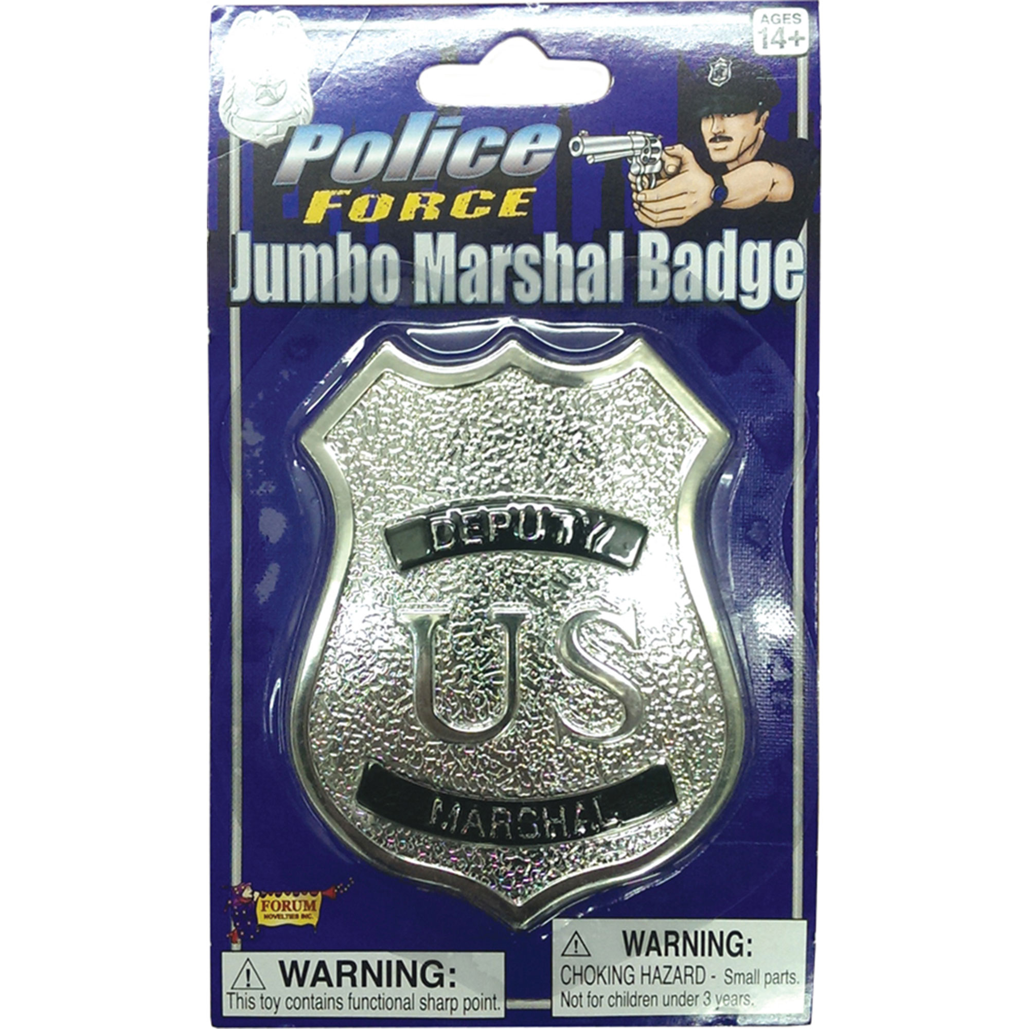 Morris Costumes Deputy Marshal Badge, Style FM66288