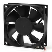 axGear Comptuer Case Fan Cooling Fan 8cm 12V Molex 4 Pin Powered