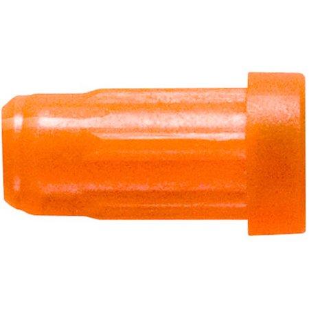 Easton Flat Back Nock 2219 Orange, 12-Pack