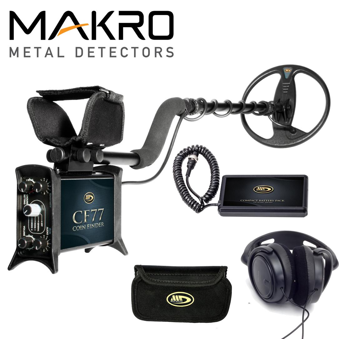 Makro CF77 Coin Finder Standard Metal Detector with 9inch...
