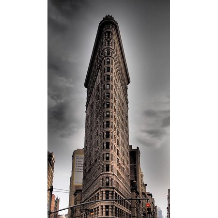 Canvas Print Sightseeing Flatron Building Interesting New York Stretched Canvas 10 x