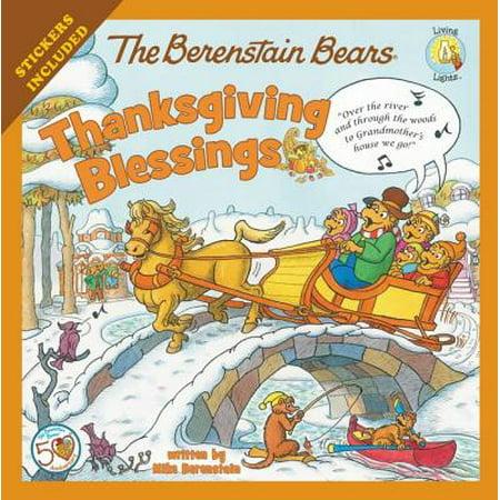 The Berenstain Bears Thanksgiving Blessings (Paperback)