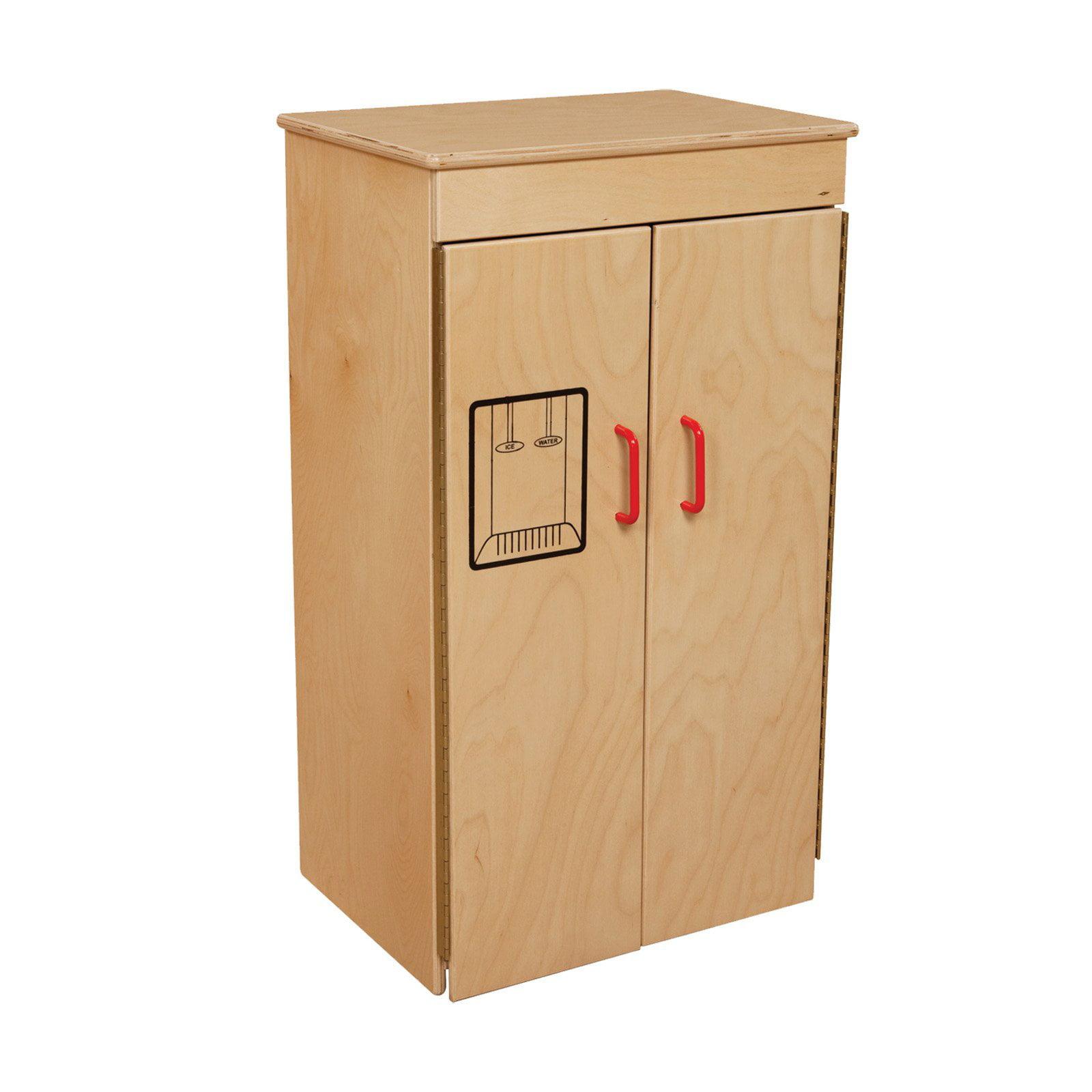 Wood Designs Play Refrigerator - Natural