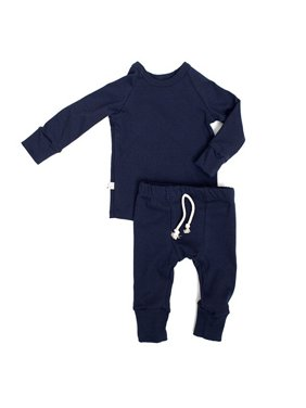XIAXAIXU Newborn Infant Toddler Baby Boy Girl Long Sleeve Clothes Pajamas Pjs Set Sleepwear Nightwear T-shirt Top + Long Pants Kids Outfits Sets