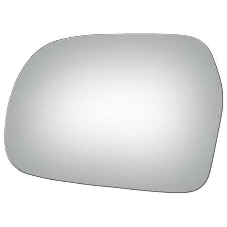 Burco 2742 Left Side Mirror Glass for 99-04 Chevy Tracker, Suzuki Vitara