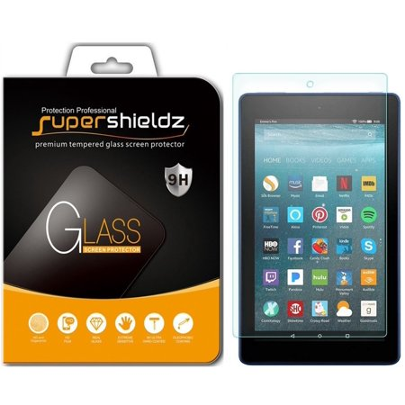 1 Pack  Supershieldz  All New Fire 7 Kids Edition Tablet 7  Screen Protector   7Th Generation   2017 Release Only   Tempered Glass Screen Protector  Anti Scratch  Anti Fingerprint  Bubble Free