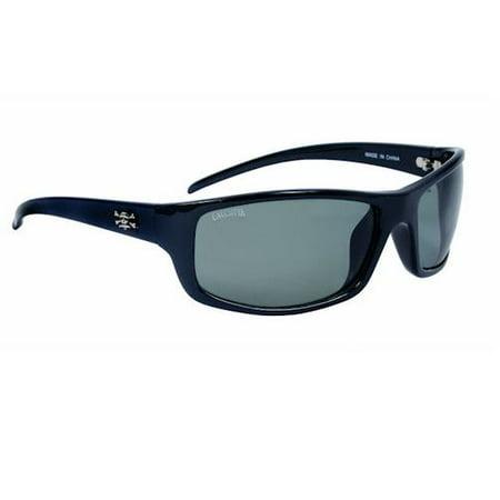 Calcutta PR1G Prowler Sunglasses, Black Frame, Gray Lens (Mens Calcutta Sunglasses)