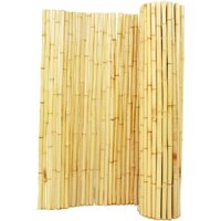 Backyard X-Scapes Bamboo Fencing, Natural