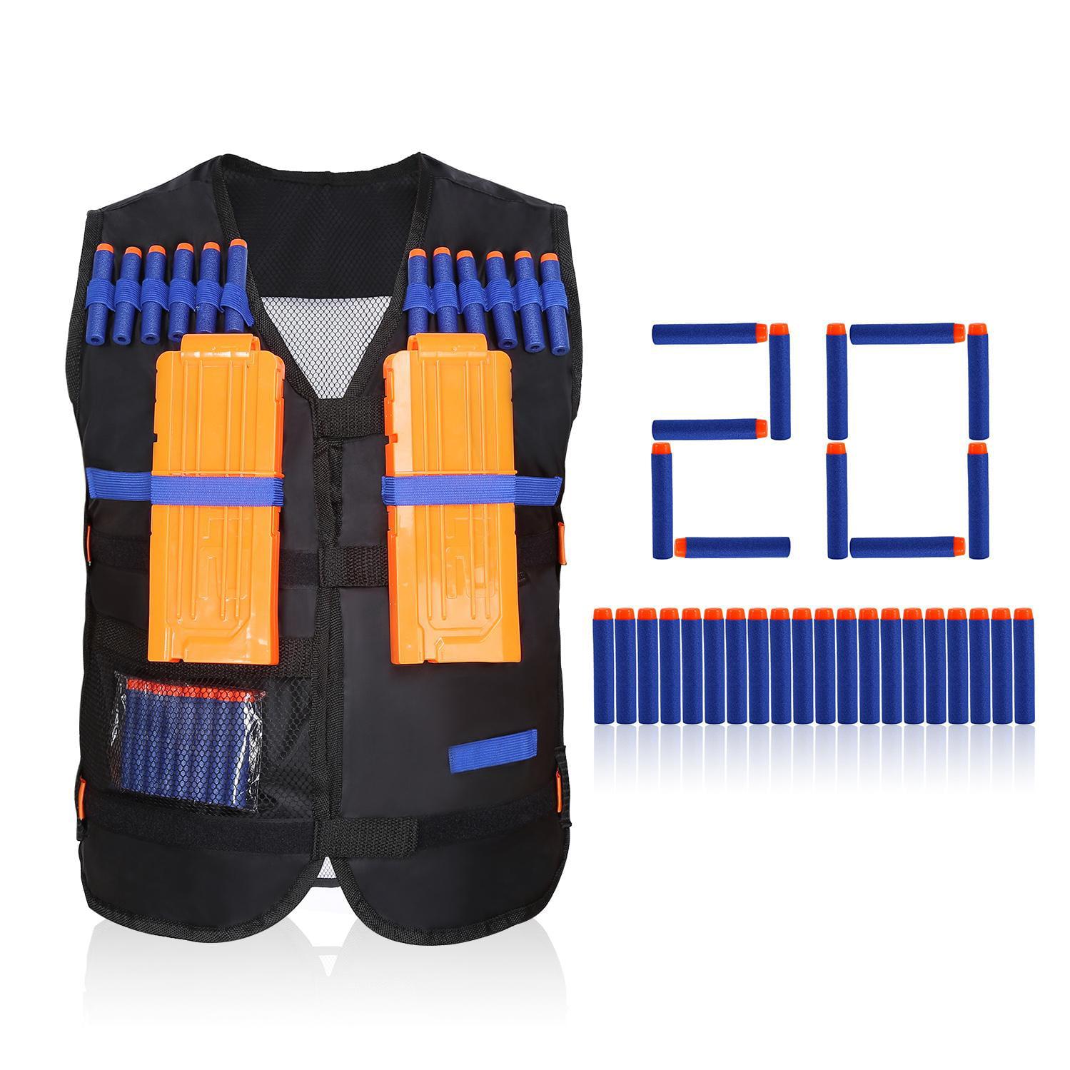 Kids Boy Tactical Vest for Nerf N-Strike Elite Battle Game Series Dart Tag Kit