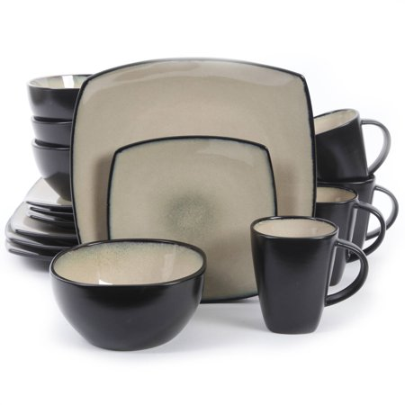 soho lounge square 16 piece dinnerware set