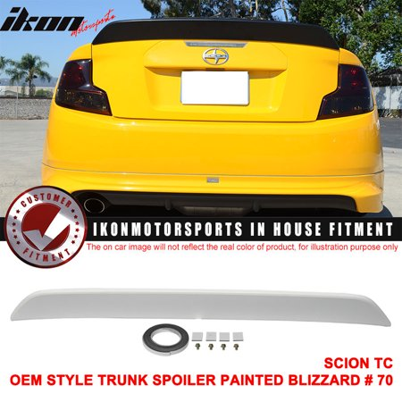 Fits 11-16 Scion TC RS Style Trunk Spoiler - (Scion Tc Side Skirts)