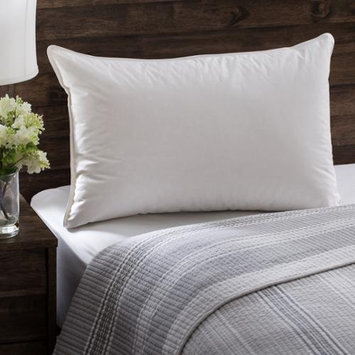 European Heritage Down Allure Hypoallergenic Medium Firmness White Down Pillow Standard