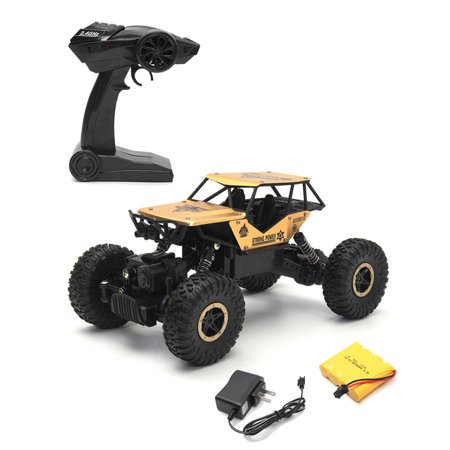 1/18 2.4G Radio Control RC Remote Truck Crawler Outdoor Racing Car Vehicle Toys Off-Road Buggy Truggy Kids Children Christmas (Truggy Race)