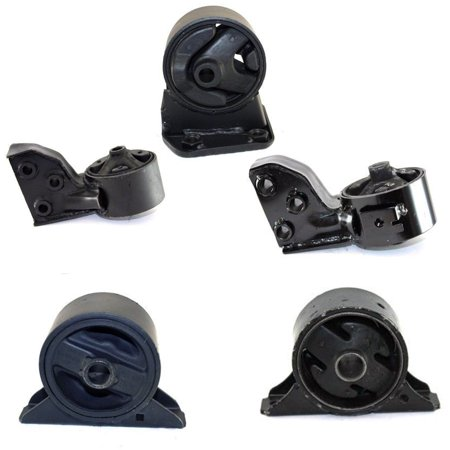 06 Plymouth - CF Advance For 94-95 Plymouth Dodge Colt 1.5L FWD Motor and Transmission Mount Set 5PCS 1994 1995 6621 6607 6612 6622 6608