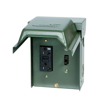 GE Backyard GFI Outlet With Switch - Walmart.com