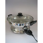 City ST. Hot Pot Food Steamer with Lid