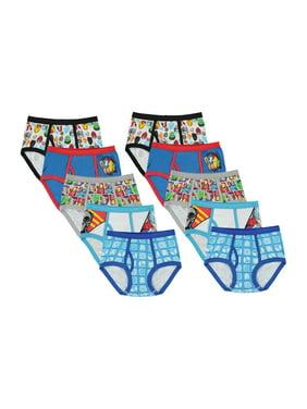 Avengers Boys Underwear, 10 Pack Briefs Sizes 4 - 8