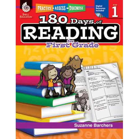 - 180 Days of Reading for First Grade (Grade 1) : Practice, Assess, Diagnose
