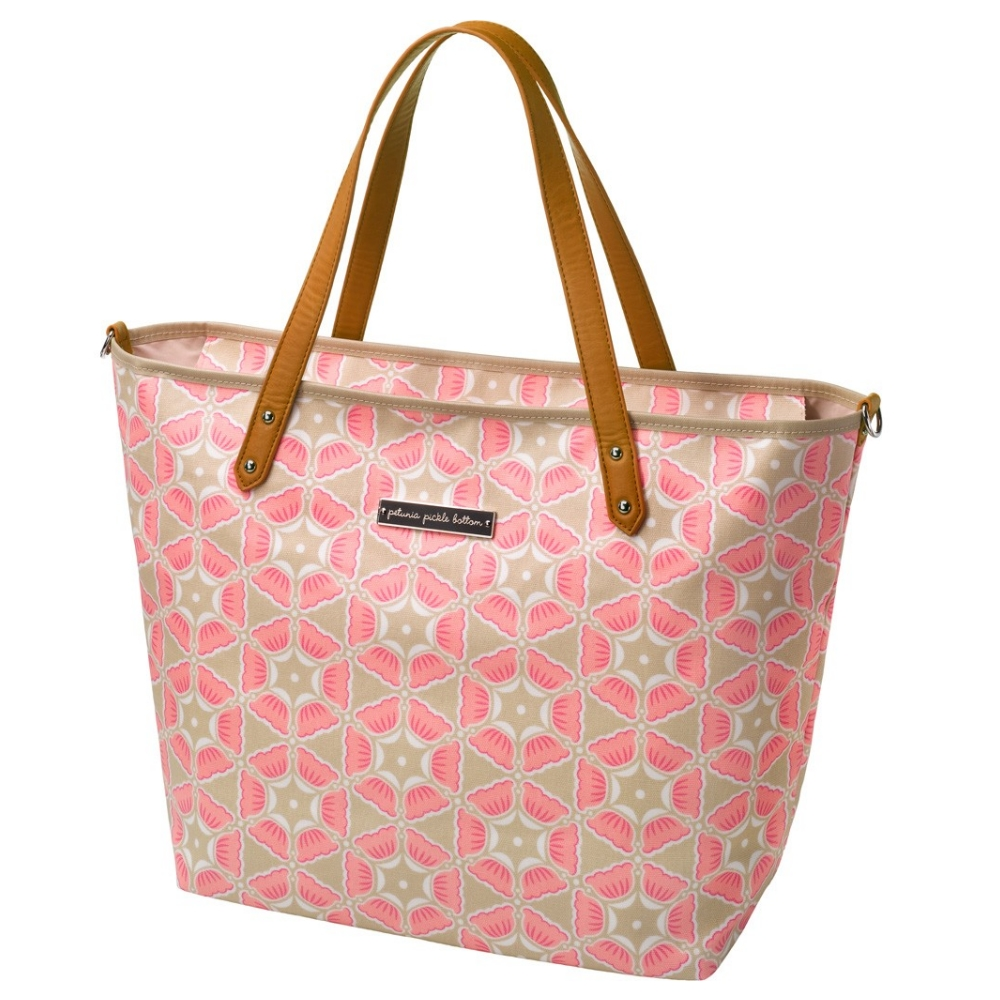 Petunia Pickle Bottom Downtown Tote - Blooming Brixham