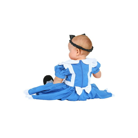 3 Piece Alice Costume - infant alice costume