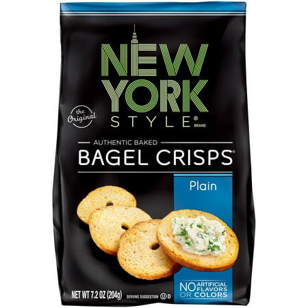 New York Style Bagel Crisps Plain, 7.2 OZ