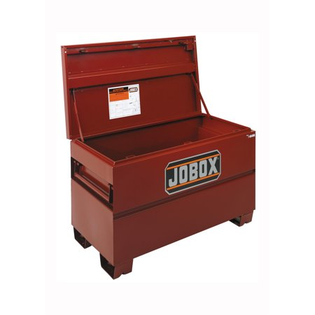 JOBOX 1-656990 48 in. Long Taller & Wider Heavy-Duty Steel Chest with Site-Vault Security