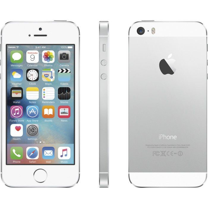 iPhone 5s 16GB Silver (Boost Mobile) Refurbished