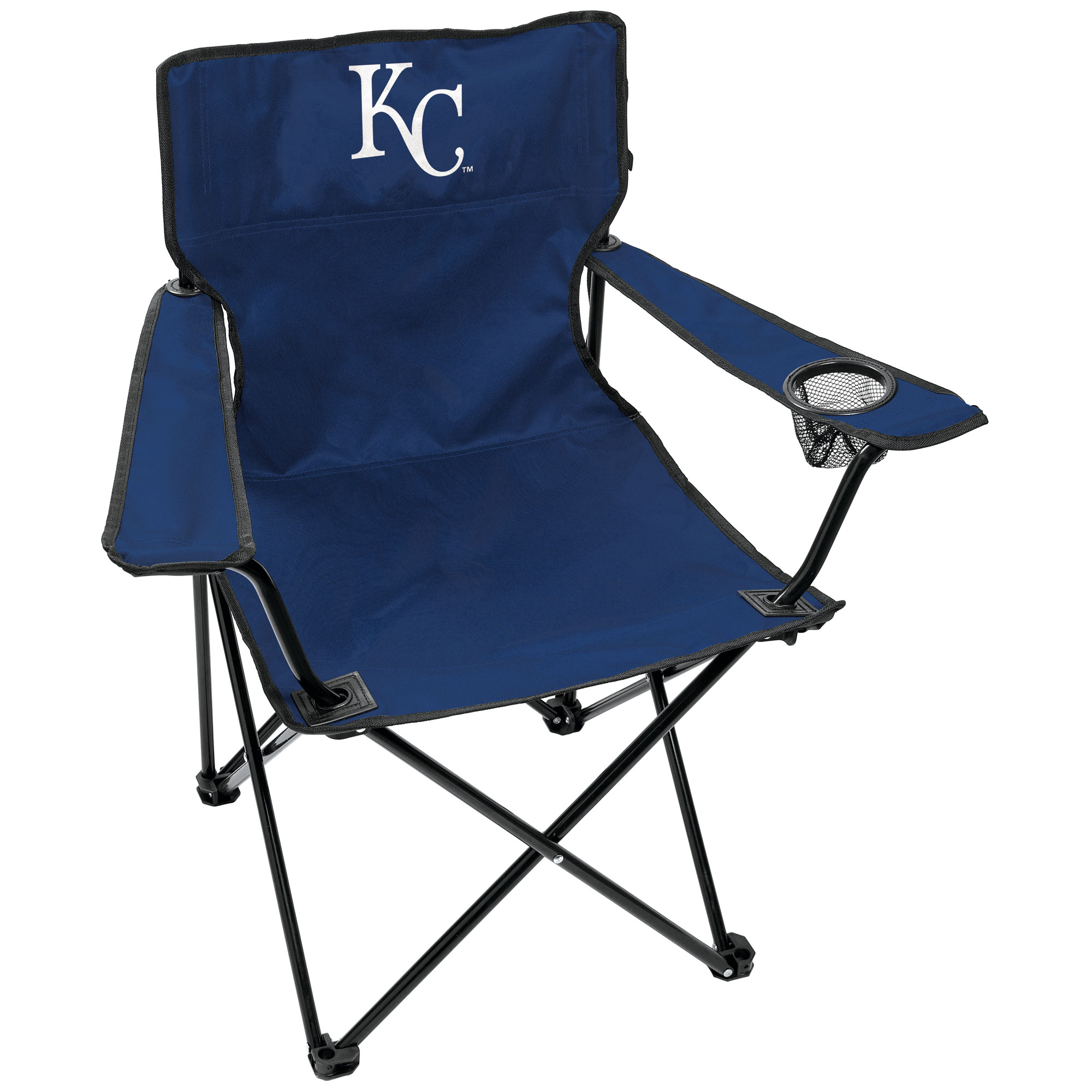 Kansas City Royals Rawlings Gameday Elite Quad Chair - No Size
