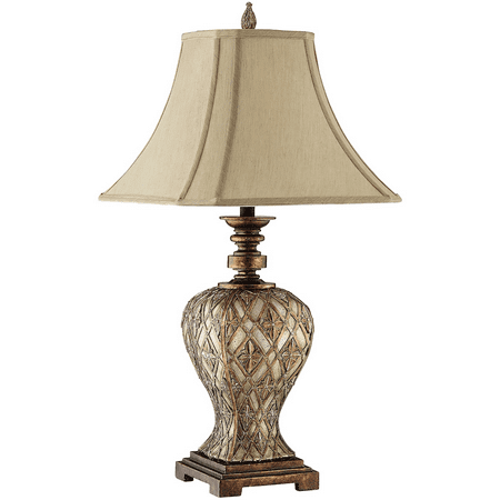 Table Lamps 1 Light Fixtures With Gold and Silver Copper Finish Metal Material 13 inch Wide 150 Watts (Copper Gas Light Fixtures)