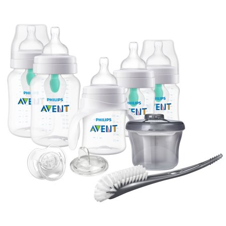 Philips Avent Anti-colic Bottle with Insert Gift Set Beginner Set, SCD394/02