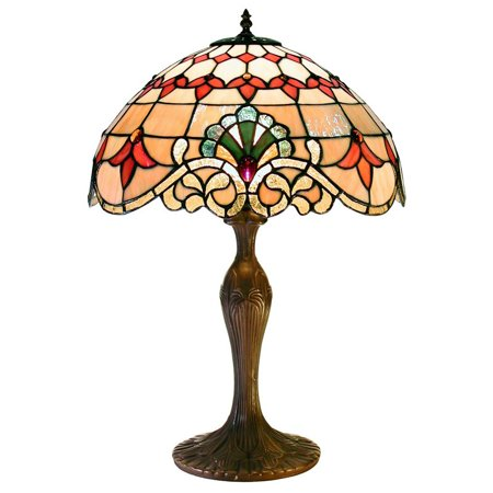warehouse of tiffany baroque table lamp. Black Bedroom Furniture Sets. Home Design Ideas