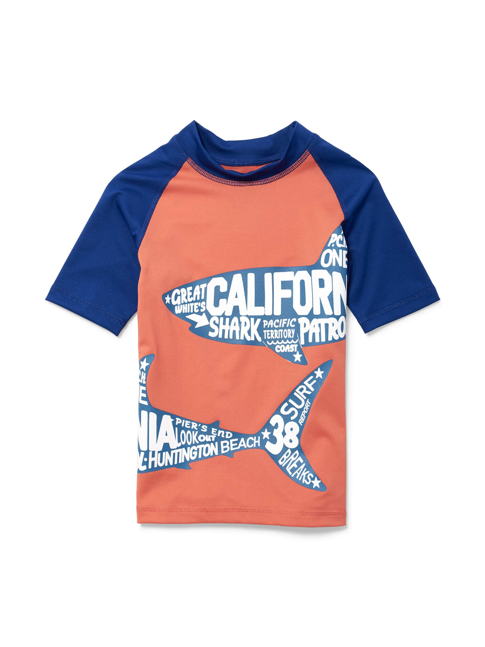 Short Sleeve Solid Rashguard (Little Boys & Big Boys)