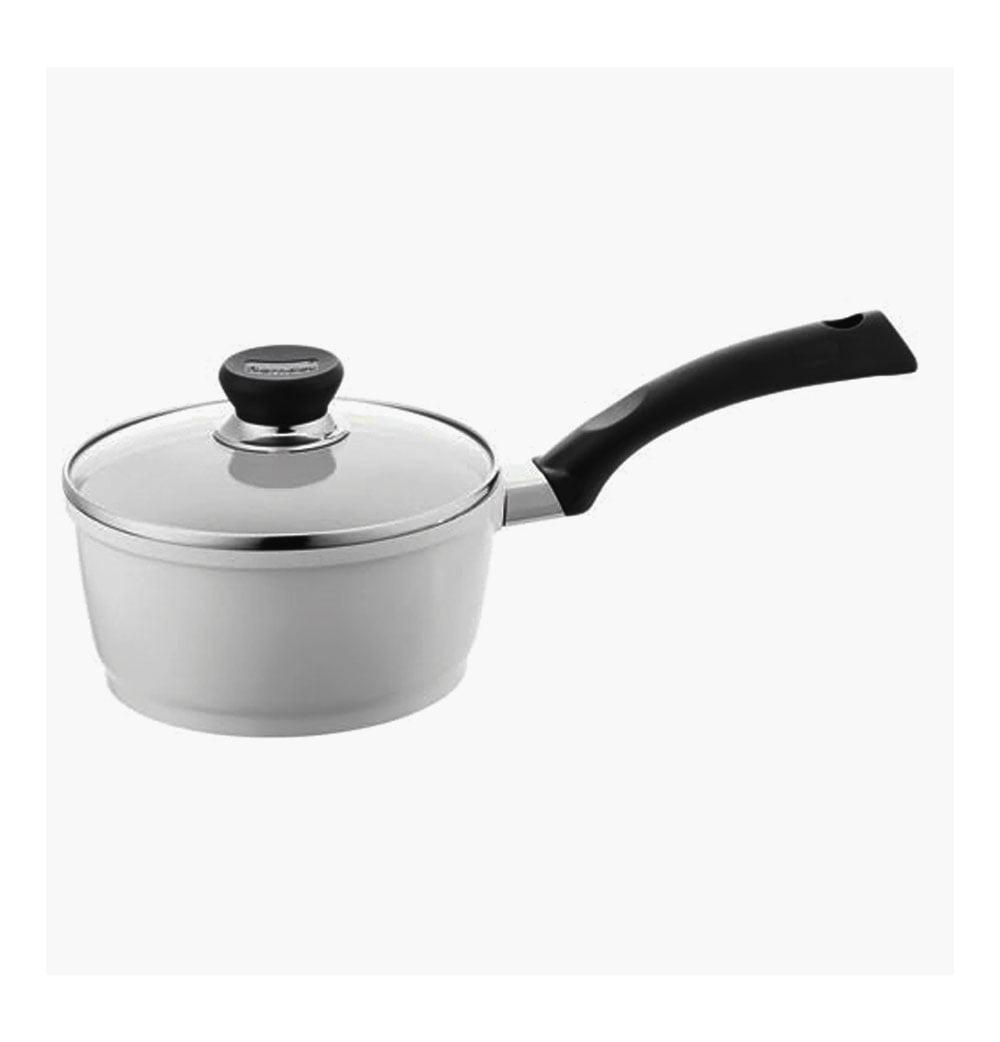 Berndes 697603 SignoCast Pearl Ceramic Coated Cast Aluminum 2-Quart Covered Saucepan