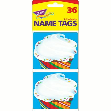 Bake Shop Cupcake Name Tags