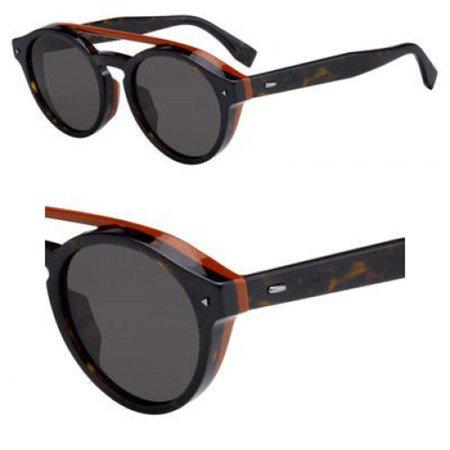 Sunglasses Fendi Men Ff M 17 /F/S 0086 Dark Havana / 70 brown lens