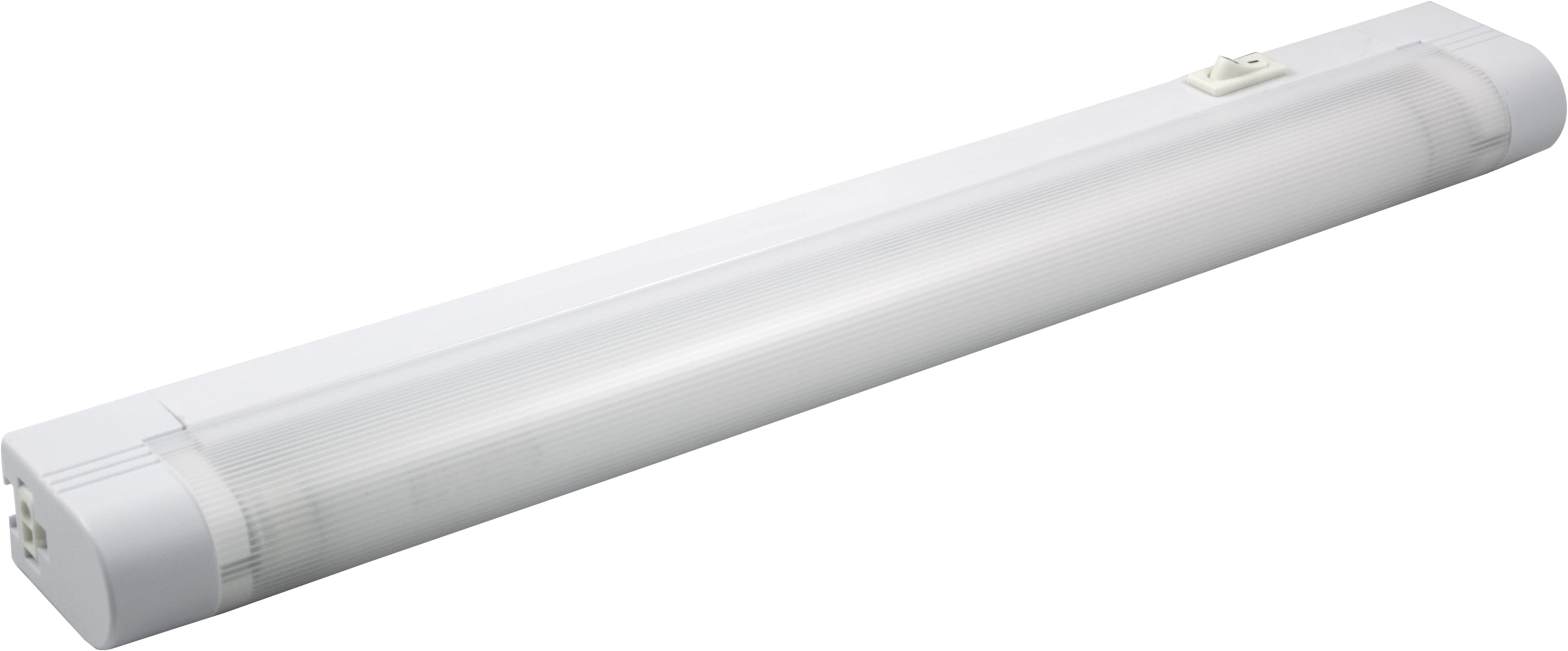 GE Slim Line 14-Inch Fluorescent Light Fixture, Plug-In, Linkable, 10168 by Jasco Products Company, LLC