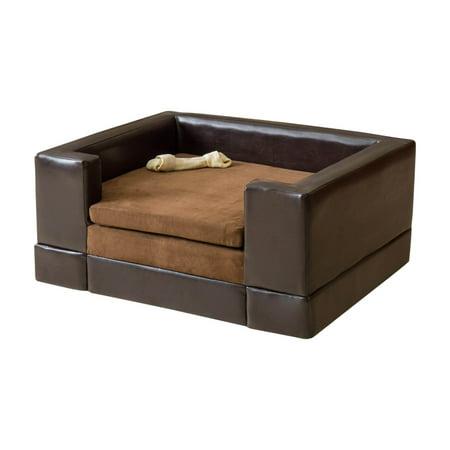 Doggerville Rectangular Cushy Dog Sofa